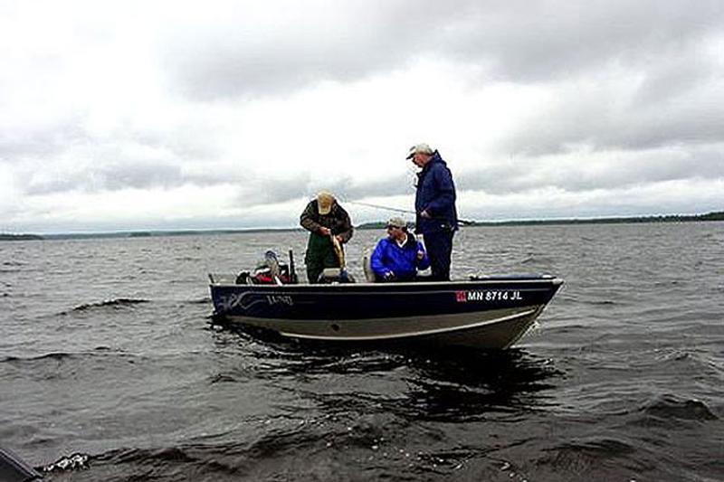 Rainy lake boating fishing information for Rainy lake fishing
